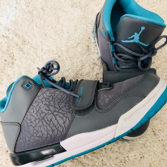 elegant shoes performance sportswear half off Nike Jordan Flight Club 90'S Grey/Blue Shoe